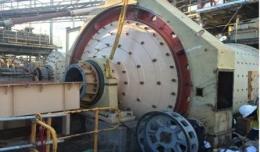 Der mechanische Teil der Mühle ist bereits komplett; Foto: Blackham Resources