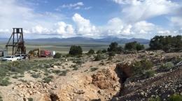 Exoploration auf der Mountain View-Mine; Foto: Nevada Zinc