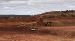 Tagebau auf der Matilda-Mine angelaufen; Foto: Blackham Resources