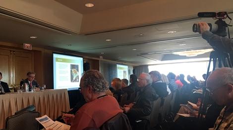 Die gut besuchte Präsentation von RLG auf dem Subscribers Investment Summit; Foto: West Red Lake Gold Mines