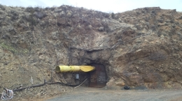 Eingang zur Madison-Mine; Foto: Broadway Gold Mining