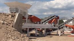 Verarbeitungsanlage auf dem Agrargipsprojekt Ana Sofia; Foto: Centurion Minerals