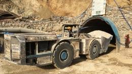 Vor dem dritten Stollen der Pinargozu-Mine; Foto: Pasinex Resources