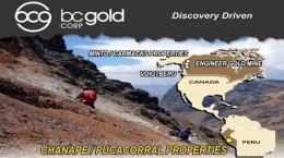 Auf den peruanischen Liegenschaften; Foto: BCGold